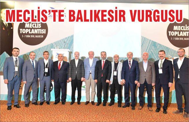 MECLİS'TE BALIKESİR VURGUSU