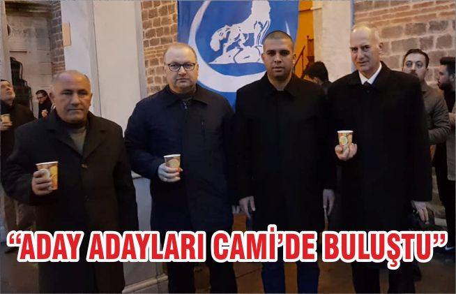 """ADAY ADAYLARI CAMİ'DE BULUŞTU"""