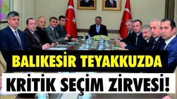 VALİ SİYASİ PARTİ İL BAŞKANLARINI TOPLADI